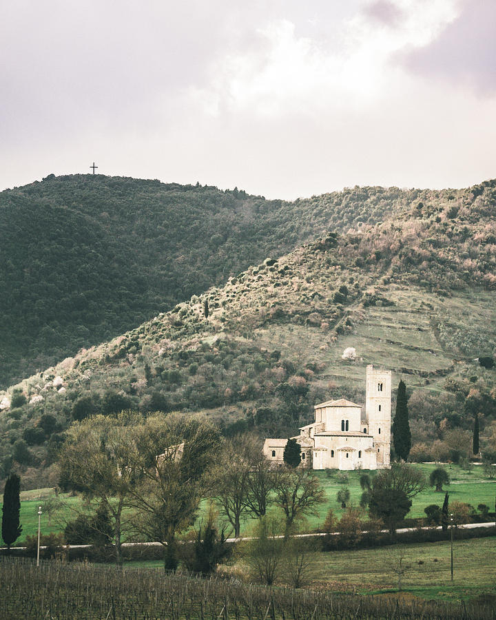Landscape Photograph - Tuscan Church by Clint Brewer