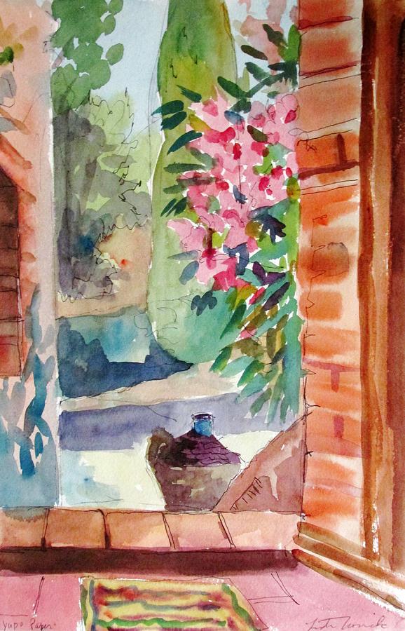 Tuscan Doorway by Linda Novick