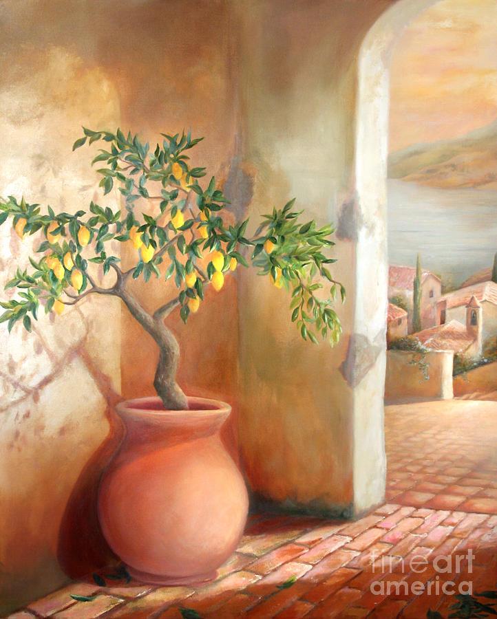 Tuscan Lemon Tree by Michael Rock