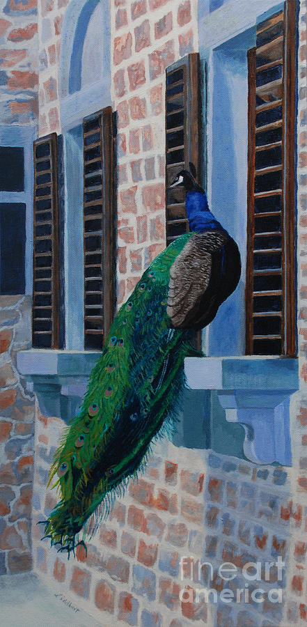 Acrylic Painting - Tuscan Mascot by Lynne Reichhart