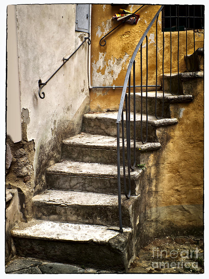 Tuscan Photograph   Tuscan Staircase By Mike Nellums