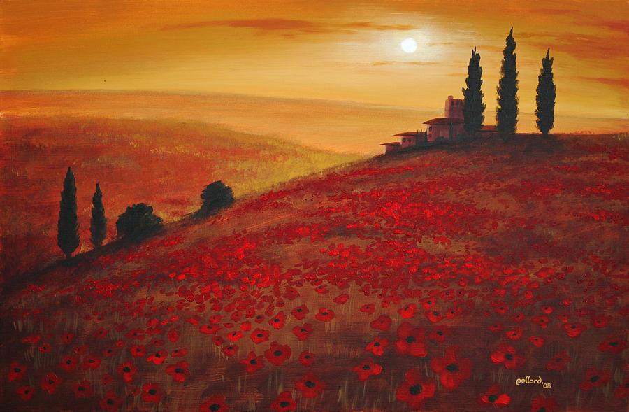 Tuscan Sunset by Glenn Pollard