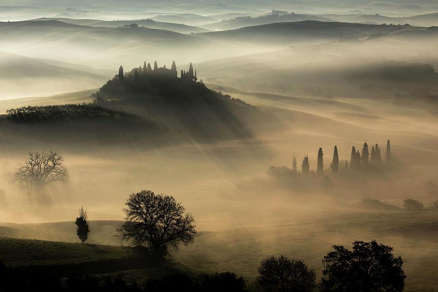 Tuscany Photograph - Tuscany by Daniel Penciuc