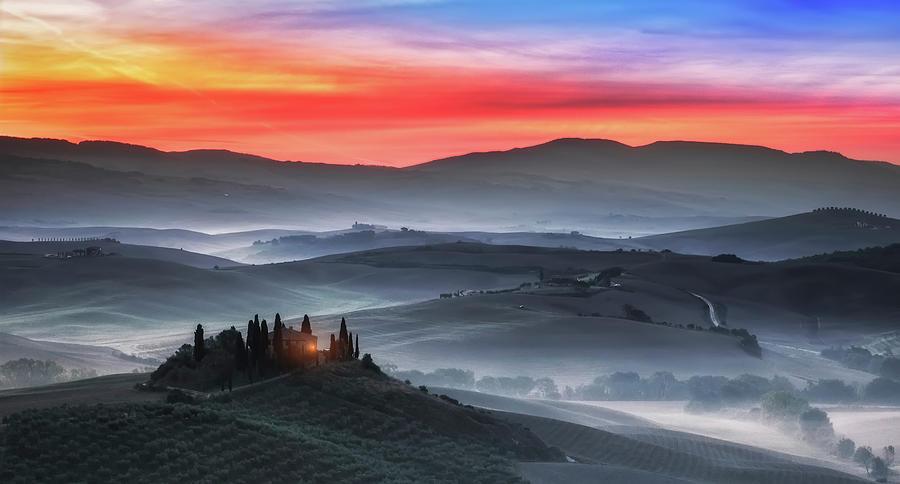 Tuscany Photograph - Tuscany by Joaquin Guerola