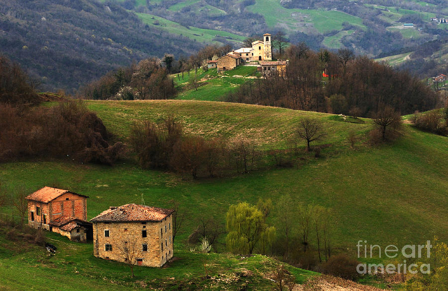 Tuscany Photograph - Tuscany Landscape 3 by Bob Christopher