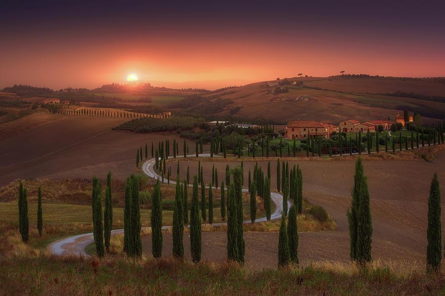 Landscape Photograph - Tuscany by Rostovskiy Anton