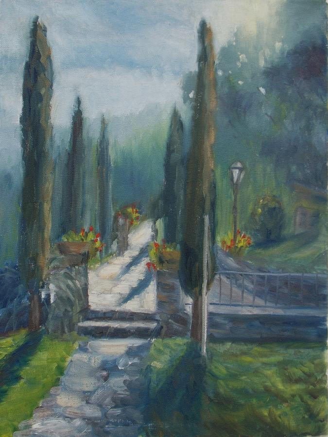 Tuskany Cyprus Painting