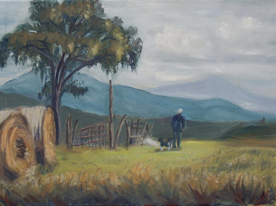 Tuskany Morning Painting