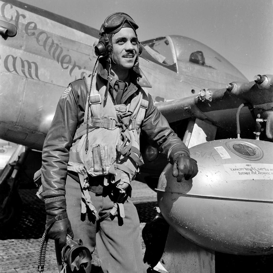 Tuskegee Photograph - Tuskegee Airman by Benjamin Yeager