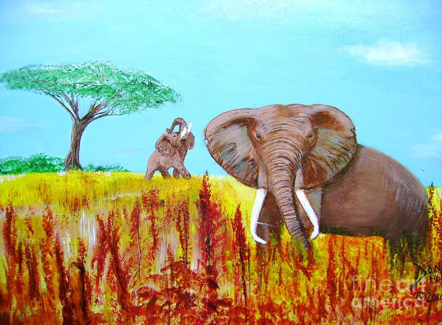 Tusks2 by Donna Dixon