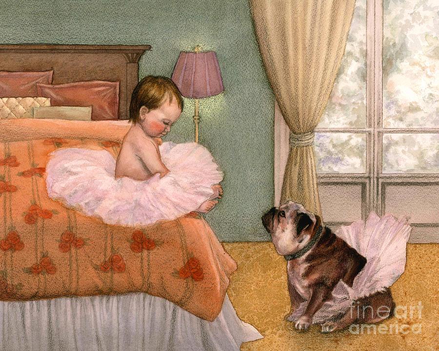 Bedroom Painting - Tutu by Isabella Kung