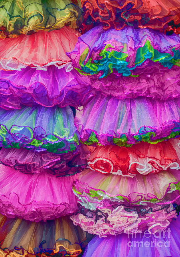 Tutu Photograph - Tutus By The Dozen by Kathleen K Parker