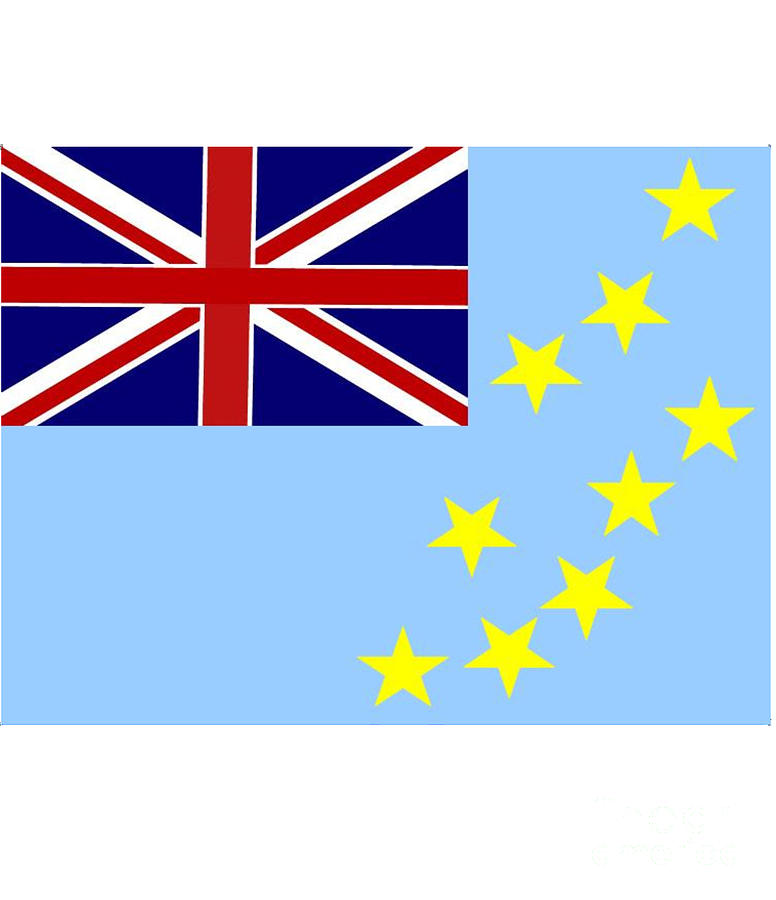 Tuvalu Digital Art - Tuvalu Flag by Frederick Holiday