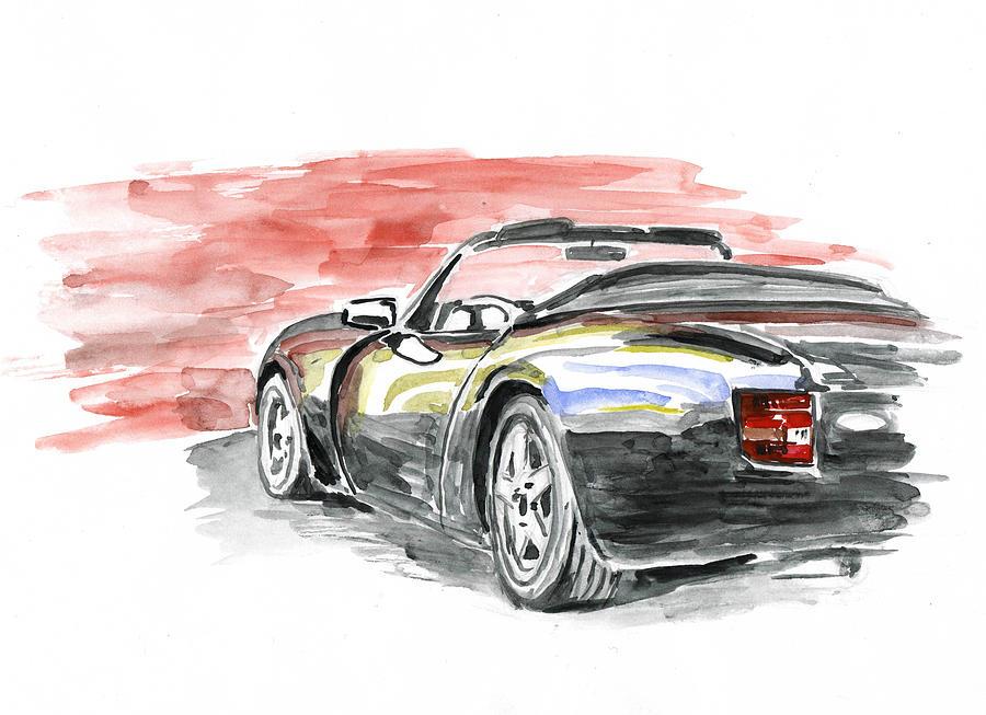 Auto Painting - Tvr Griffith by Ildus Galimzyanov