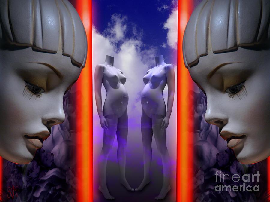 Twins Digital Art - Tween Seeds by Rosa Cobos