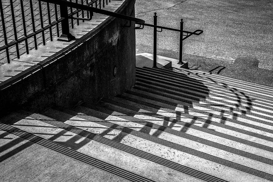 Steps Photograph - Twenty Steps by Bob Orsillo