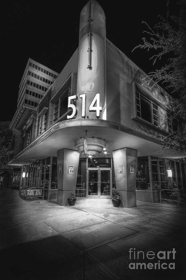 Restaurant Photograph - Twiggs 514 Indigo by Marvin Spates