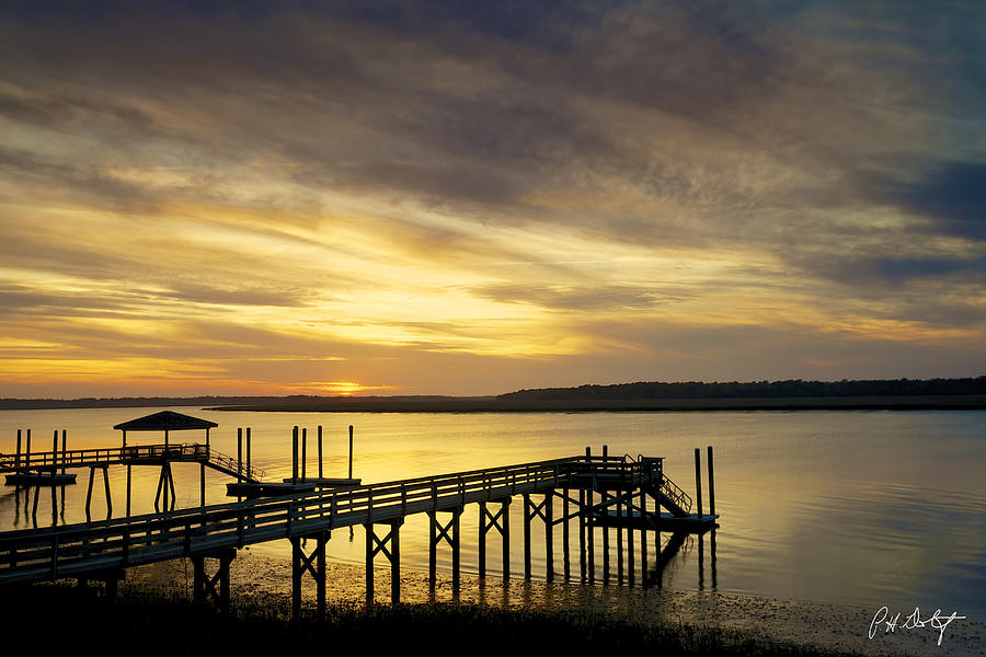 Beaufort County Photograph - Twilight Color by Phill Doherty