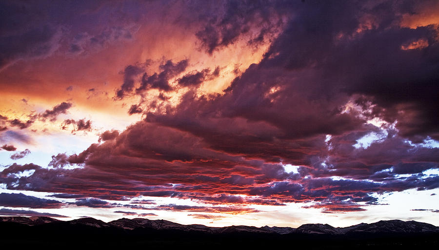 Twilight Photograph - Twilight Colours by Patrick Derickson
