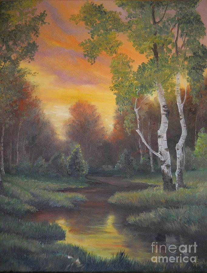 Twilight Fall Painting