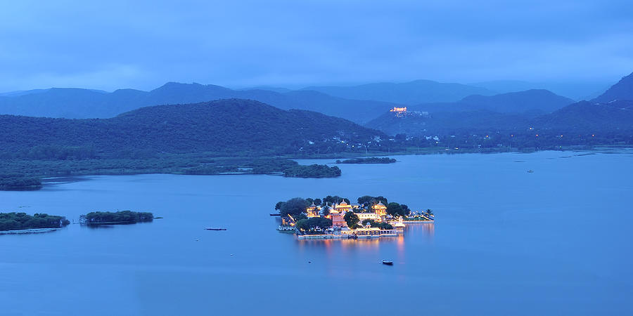 Twilight On Jag Mandir Photograph by Nimit Nigam