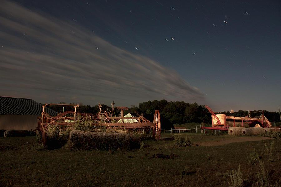Twilight On The Farm Photograph