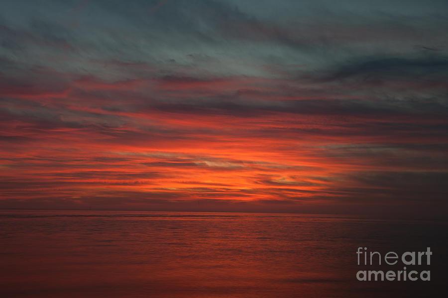 Twilight Over Charleston Harbor Photograph