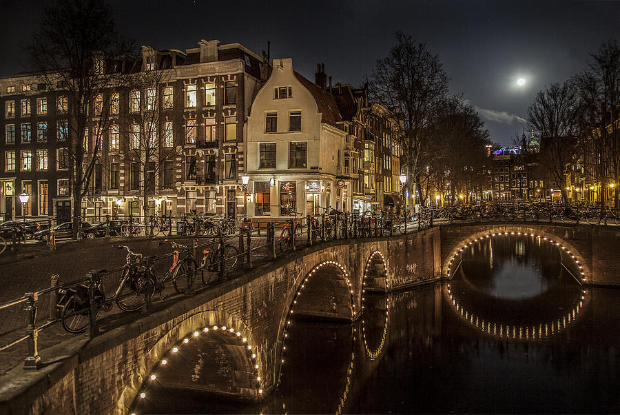 Amsterdam Photograph - Twilight by Shari Mattox
