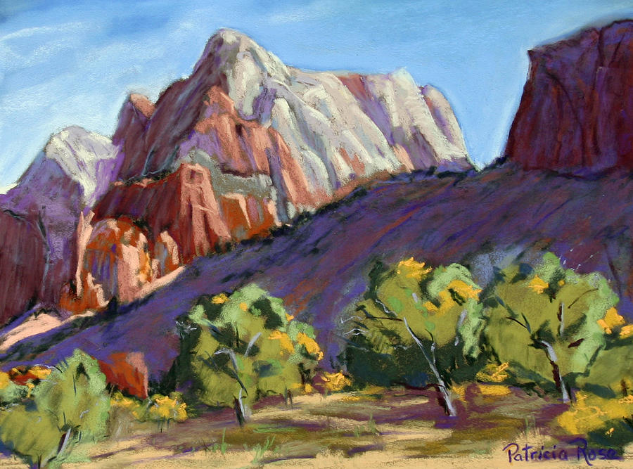 Twin Brothers Vista Pastel by Patricia Rose Ford