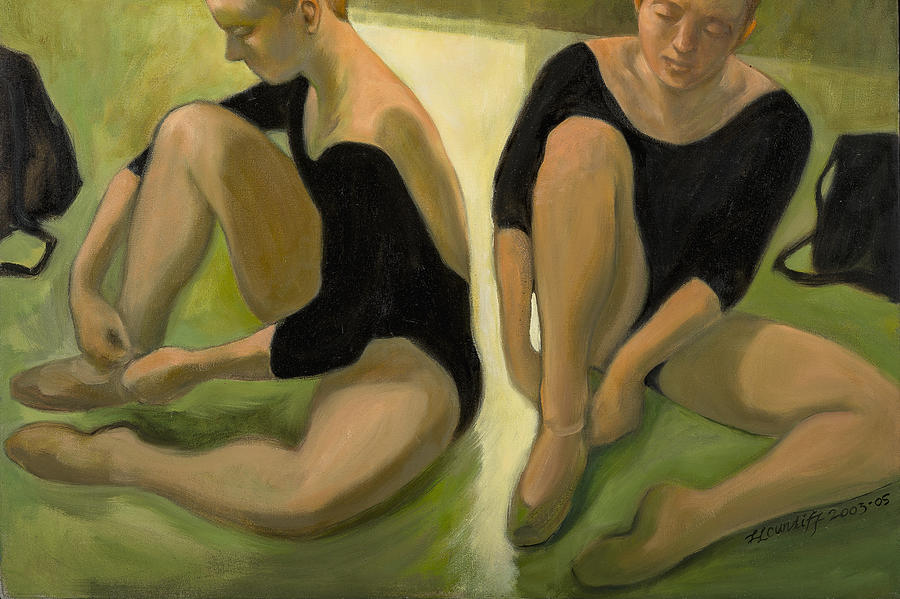 Twin Dancers by Laura Lee Cundiff