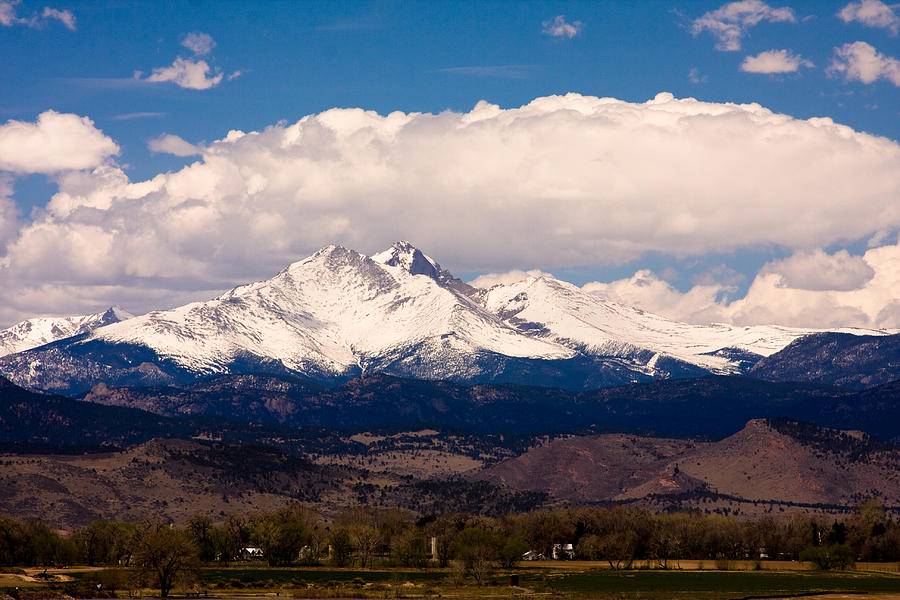 Twin Peeks Photograph - Twin Peaks Snow Covered by James BO Insogna