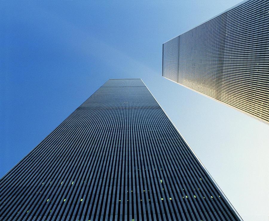 World Trade Center Photograph - Twin Towers by Jon Neidert