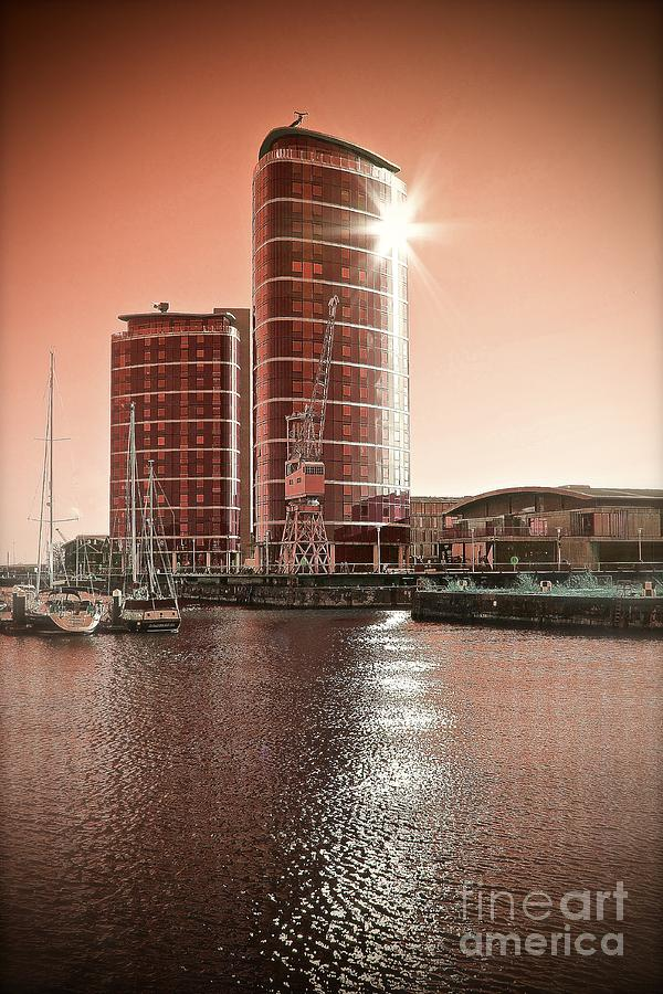 Twin Photograph - Twin Towers by Paul Muscat