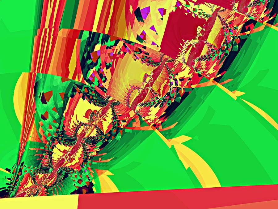Twist Detail I Digital Art