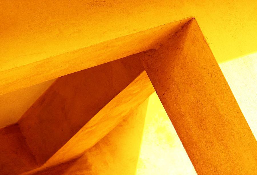 Simple Geometry Photograph - Twisted Geometry  by Prakash Ghai
