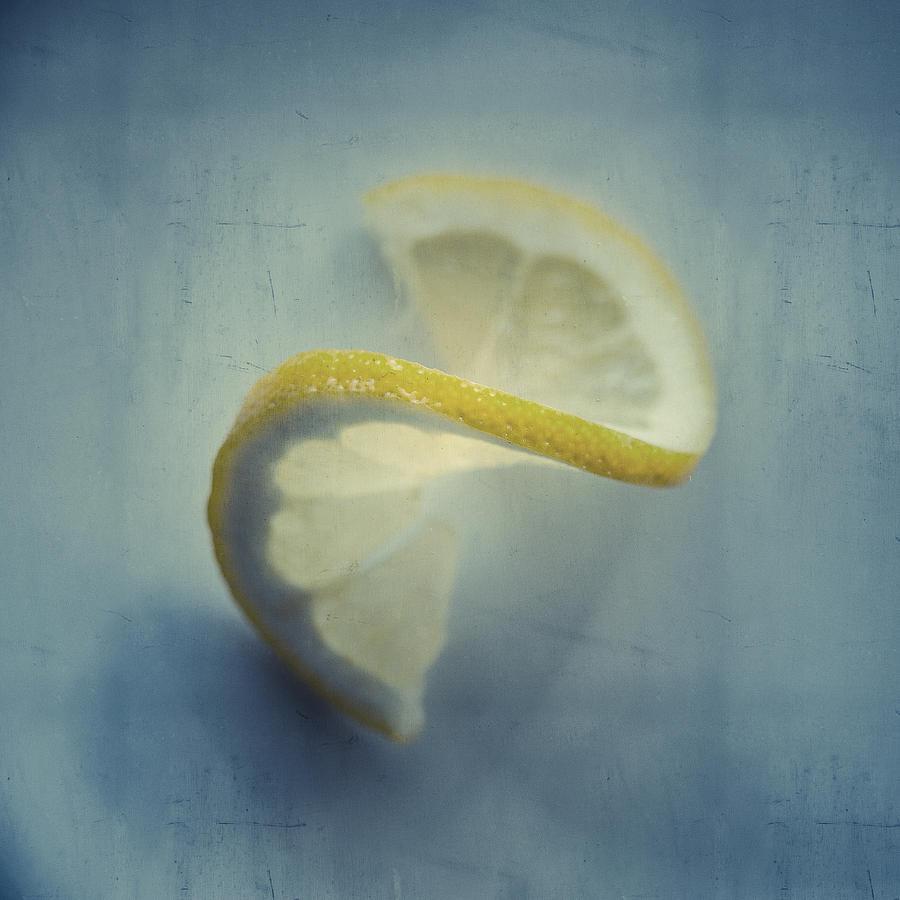 Lemon Photograph - Twisted Lemon by Ari Salmela