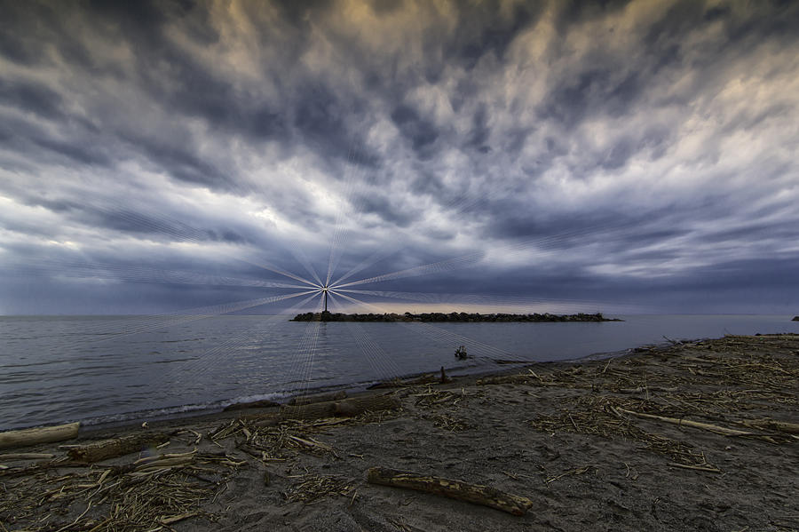 Lorain Photograph - Twisted Sky by Kris Rowlands