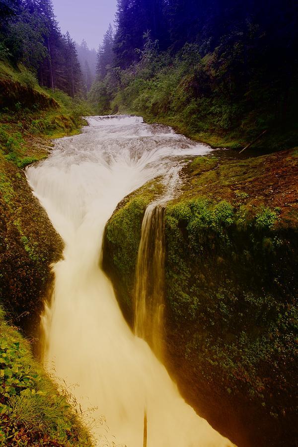 Waterfalls Photograph - Twister Falls by Jeff Swan