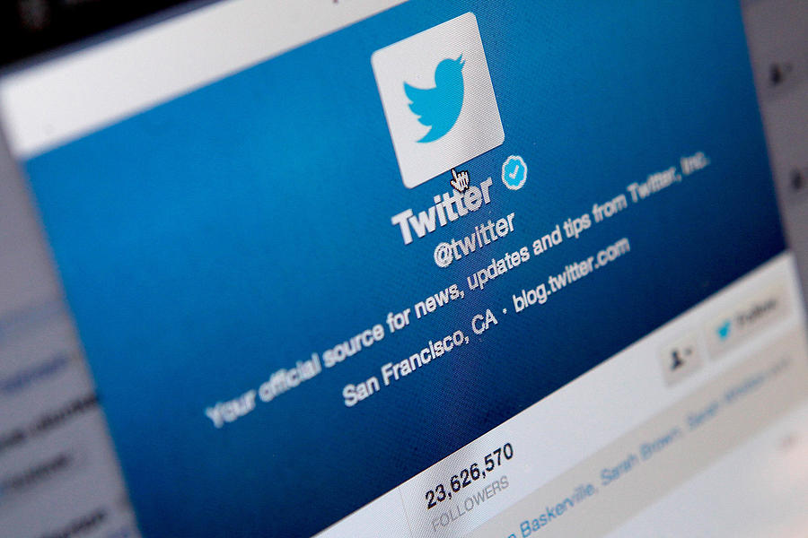 Twitter Announces Plan To Float On Stock Market Photograph by Mary Turner