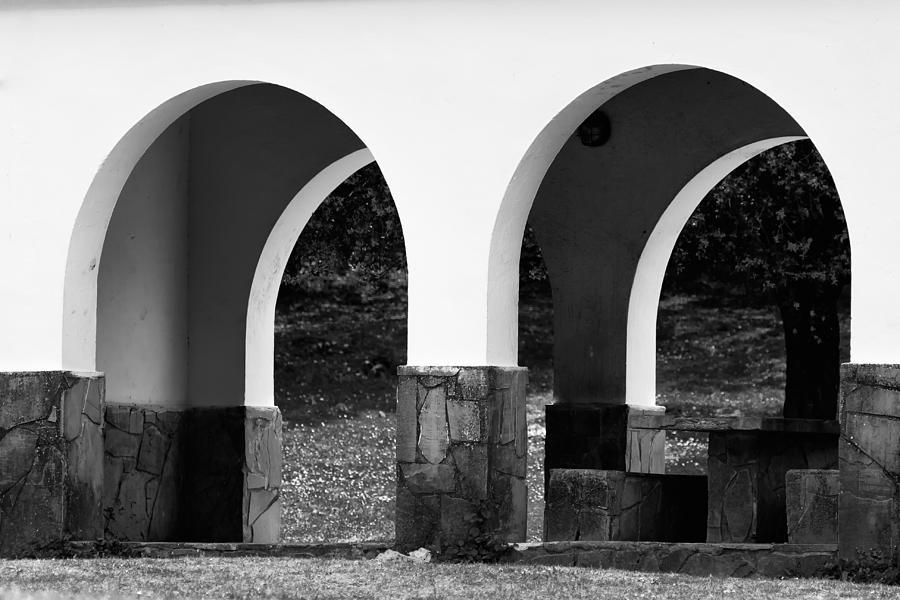 Two Photograph - Two Arcs by Goyo Ambrosio