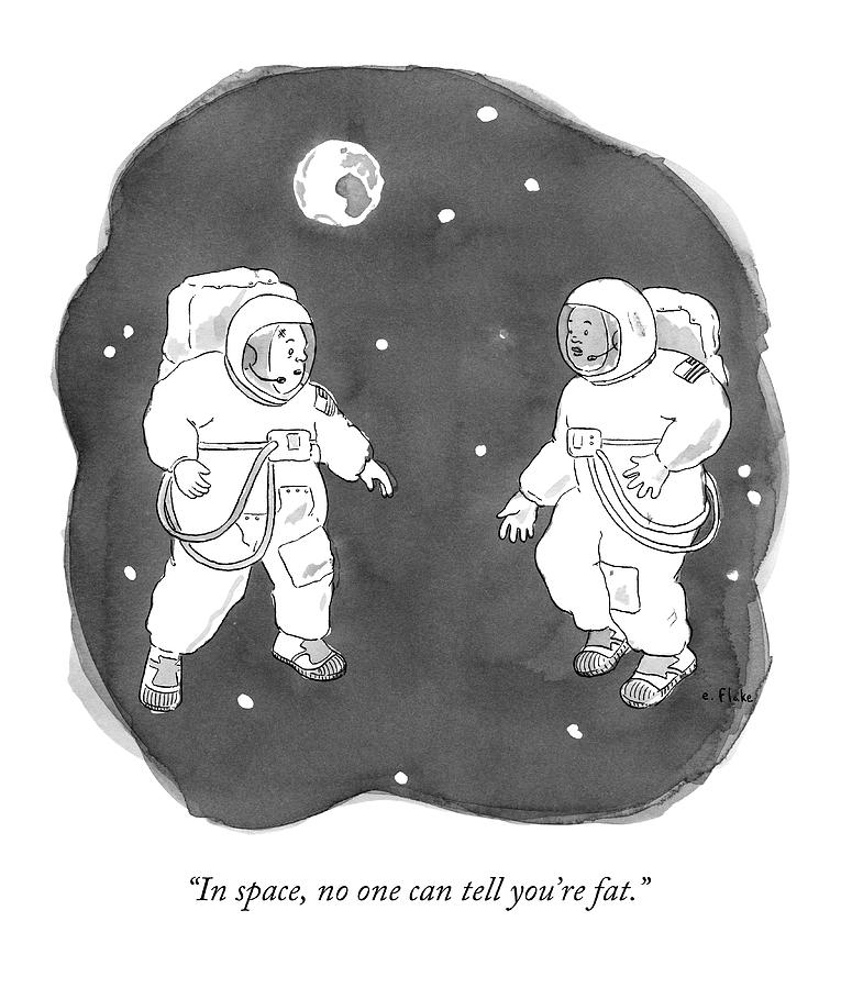drawing of astronaut floating in space - photo #27