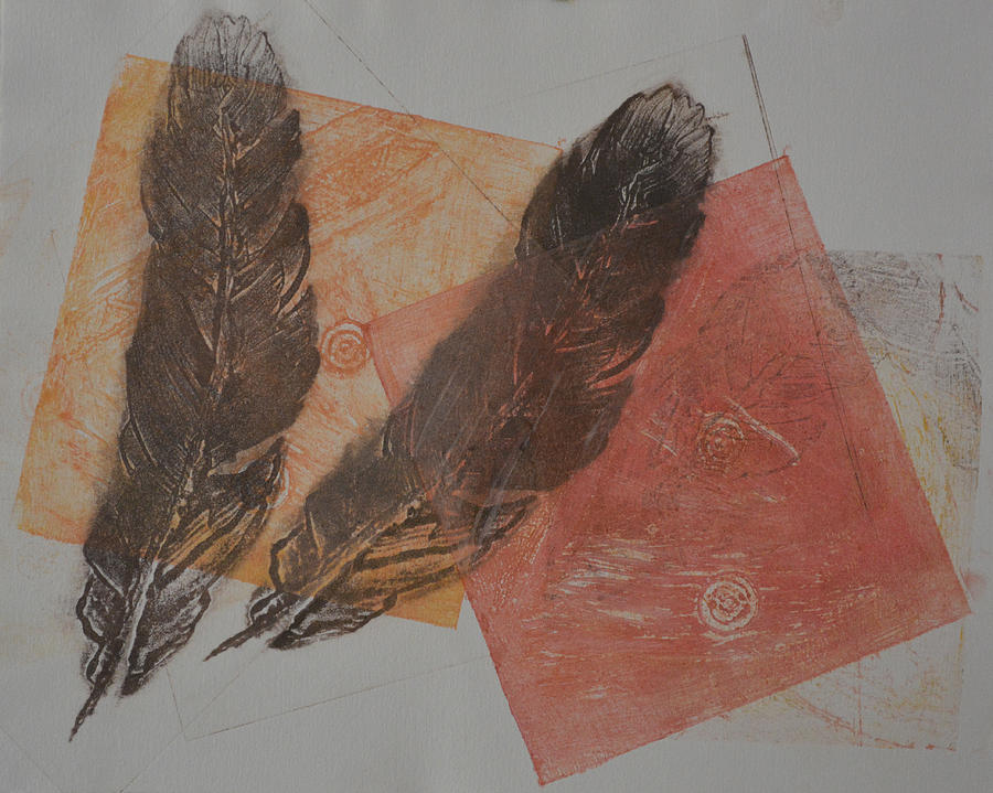 Two Feathers by Catherine Weser