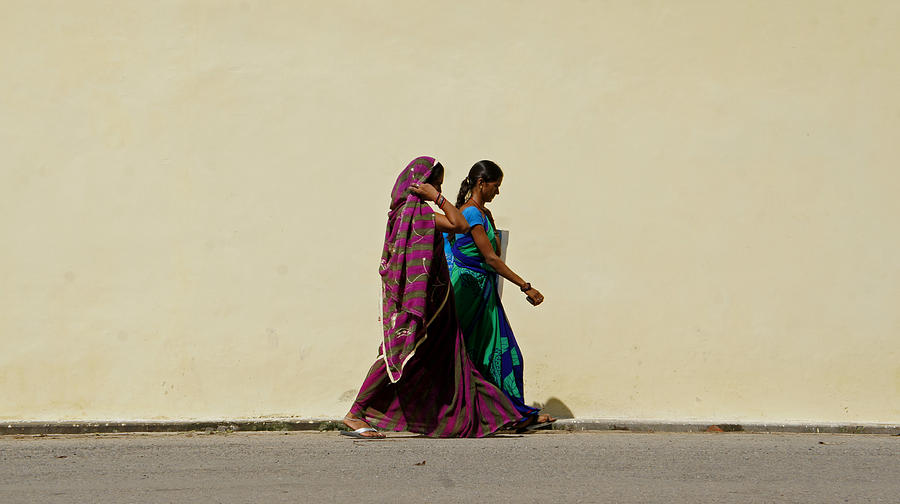 Two Ladies Photograph by Kees Colijn