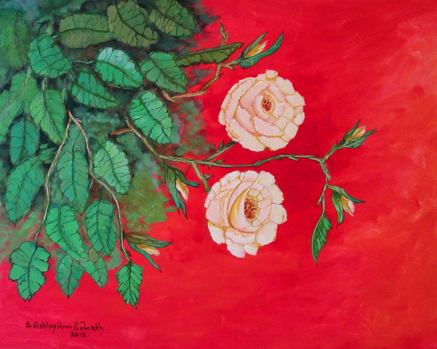 Two Roses by Ashley Goforth