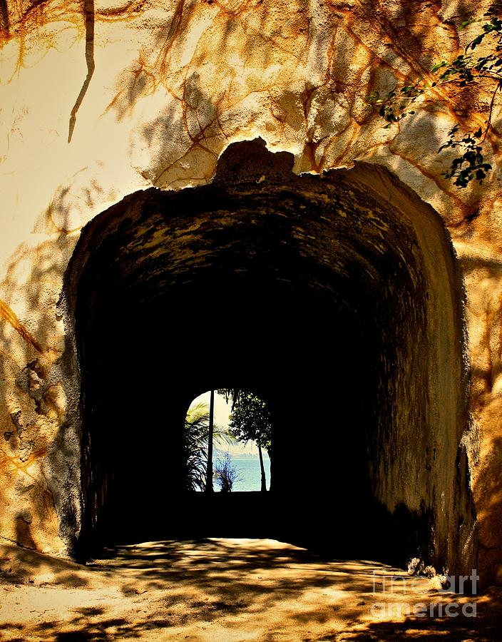 Tunnel Photograph - Two Sides by Will Cardoso
