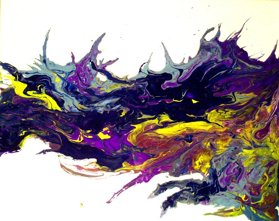 Diptych Painting - two souls II by Holly Anderson