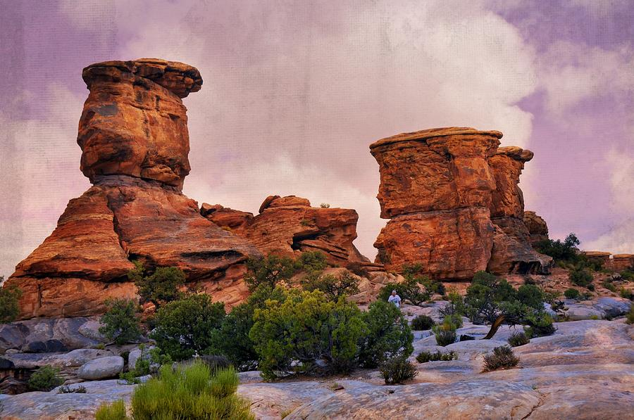 Utah Photograph - Two Towers by Marty Koch