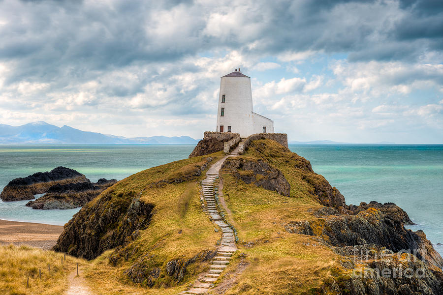 Anglesey Photograph - Twr Mawr Path by Adrian Evans