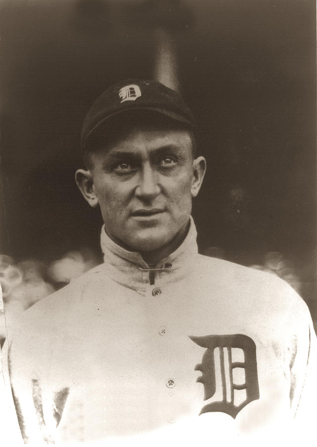 Ty Cobb 1915 Photograph - Ty Cobb 1915 by Unknown