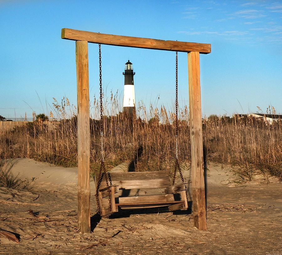 Savannah Ga Photograph - Tybee Island Lighthouse by Steven  Michael